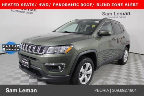 2018 Jeep Compass for sale at Sam Leman Chrysler Jeep Dodge of Peoria in Peoria IL