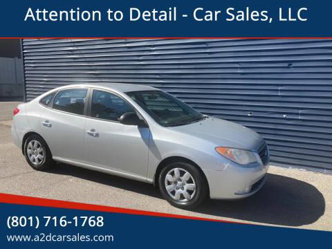 2007 Hyundai Elantra for sale at Attention to Detail - Car Sales, LLC in Ogden UT