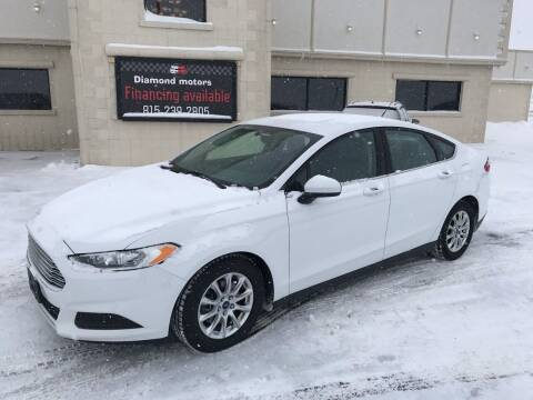 2015 Ford Fusion for sale at Diamond Motors in Pecatonica IL