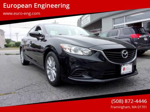 2016 Mazda MAZDA6 for sale at European Engineering in Framingham MA