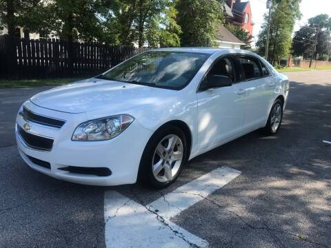 2012 Chevrolet Malibu for sale at Eddie's Auto Sales in Jeffersonville IN