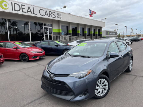 2018 Toyota Corolla for sale at Ideal Cars in Mesa AZ