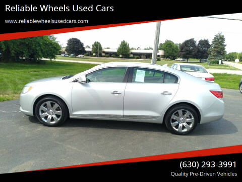2012 Buick LaCrosse for sale at Reliable Wheels Used Cars in West Chicago IL