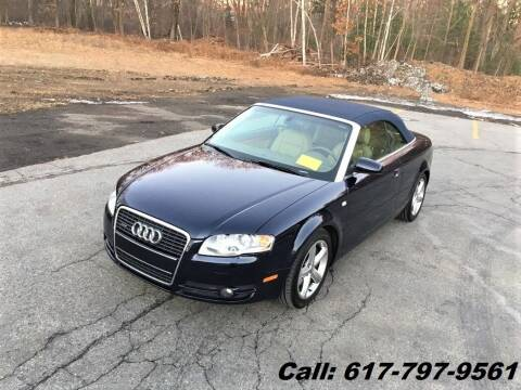 2007 Audi A4 for sale at Wheeler Dealer Inc. in Acton MA