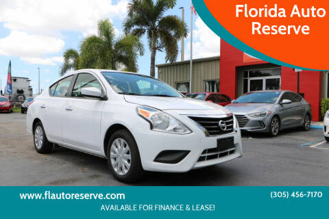 2019 Nissan Versa for sale at Florida Auto Reserve in Medley FL