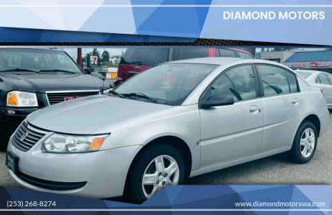 2006 Saturn Ion for sale at Diamond Motors in Lakewood WA