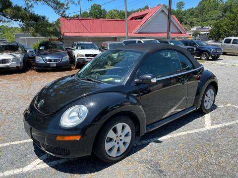 2009 Volkswagen New Beetle Convertible for sale at Car Online in Roswell GA