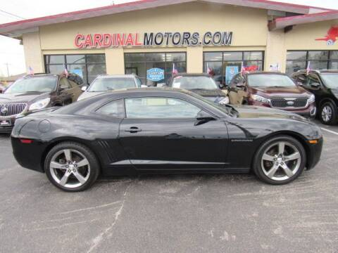2012 Chevrolet Camaro for sale at Cardinal Motors in Fairfield OH