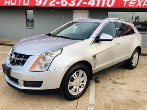 2011 Cadillac SRX for sale at Texas Luxury Auto in Cedar Hill TX