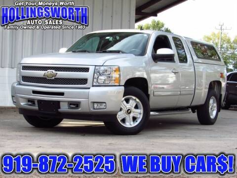 2010 Chevrolet Silverado 1500 for sale at Hollingsworth Auto Sales in Raleigh NC