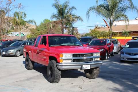 1995 Chevrolet C/K 1500 Series for sale at Car 1234 inc in El Cajon CA