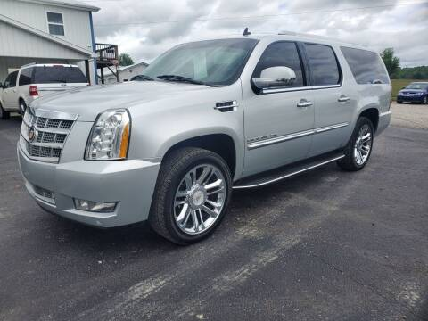 2013 Cadillac Escalade ESV for sale at Hatcher's Auto Sales, LLC in Campbellsville KY