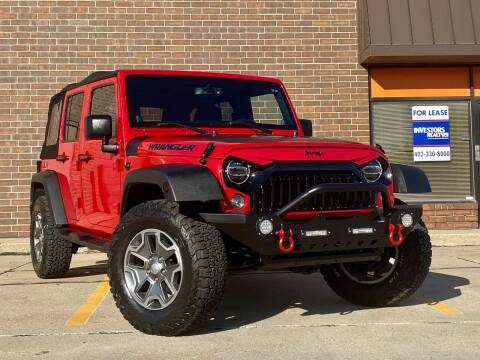 2014 Jeep Wrangler Unlimited for sale at Effect Auto Center in Omaha NE