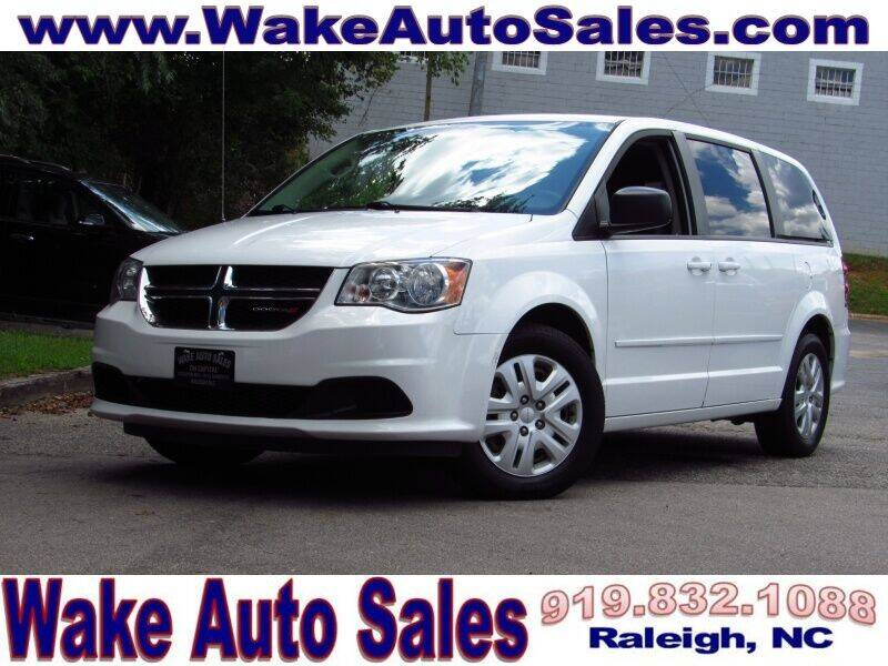 2017 Dodge Grand Caravan for sale at Wake Auto Sales Inc in Raleigh NC