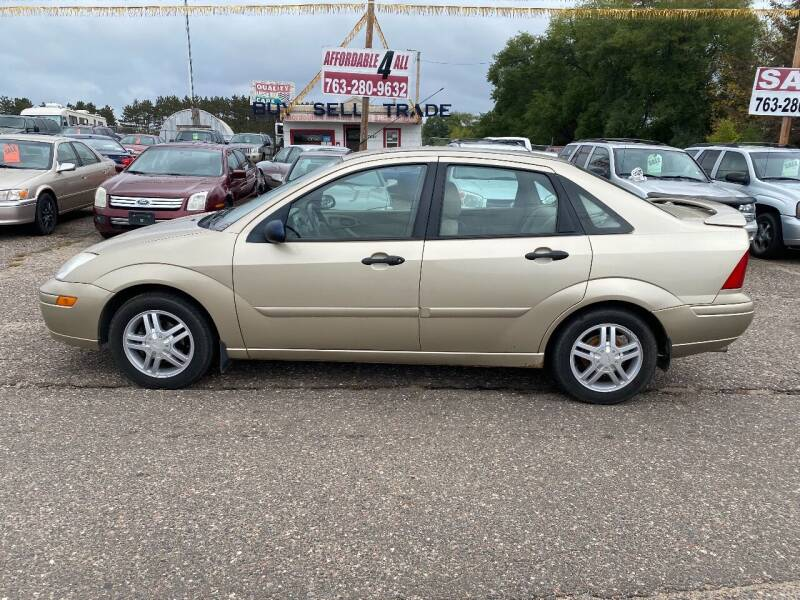 2002 Ford Focus for sale at Affordable 4 All Auto Sales in Elk River MN