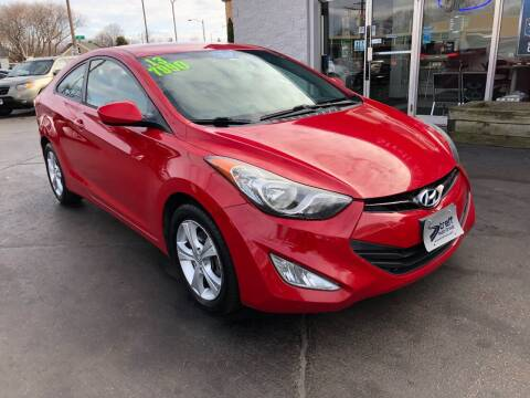 2013 Hyundai Elantra Coupe for sale at Streff Auto Group in Milwaukee WI