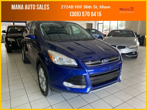 2013 Ford Escape for sale at MANA AUTO SALES in Miami FL