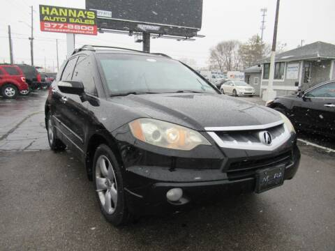 2008 Acura RDX for sale at Hanna's Auto Sales in Indianapolis IN