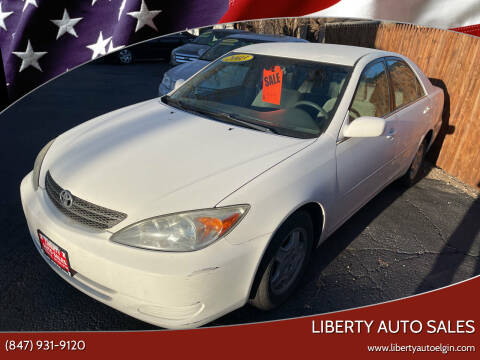 2003 Toyota Camry for sale at Liberty Auto Sales in Elgin IL