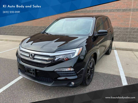 2017 Honda Pilot for sale at KI Auto Body and Sales in Lino Lakes MN