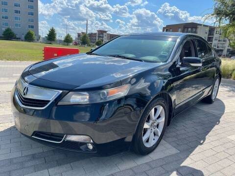 2012 Acura TL for sale at Klutch Motorsports in Dallas TX