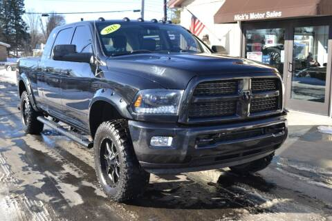 2015 RAM Ram Pickup 2500 for sale at Nick's Motor Sales LLC in Kalkaska MI