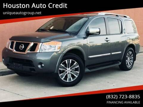 2015 Nissan Armada for sale at Houston Auto Credit in Houston TX