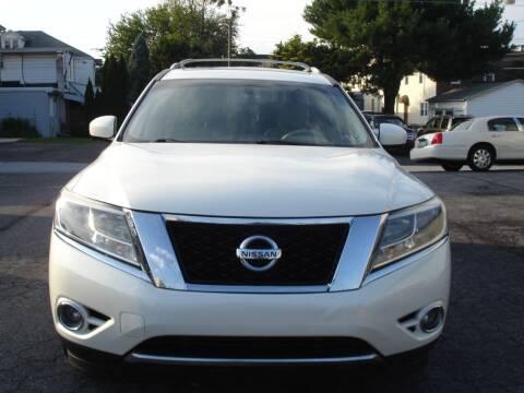 2015 Nissan Pathfinder for sale at Pete's Bridge Street Motors in New Cumberland PA