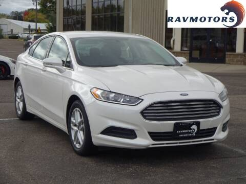 2016 Ford Fusion for sale at RAVMOTORS 2 in Crystal MN
