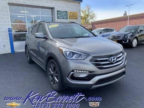 2017 Hyundai Santa Fe Sport for sale at KEN BARRETT CHEVROLET CADILLAC in Batavia NY
