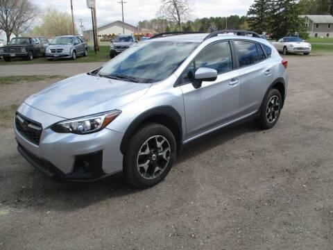 2018 Subaru Crosstrek for sale at D & T AUTO INC in Columbus MN