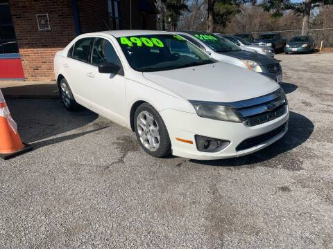 2010 Ford Fusion for sale at Super Wheels-N-Deals in Memphis TN