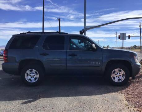 2008 Chevrolet Tahoe for sale at SPEND-LESS AUTO in Kingman AZ