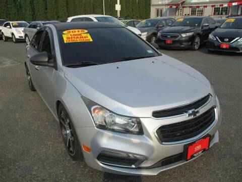 2015 Chevrolet Cruze for sale at GMA Of Everett in Everett WA