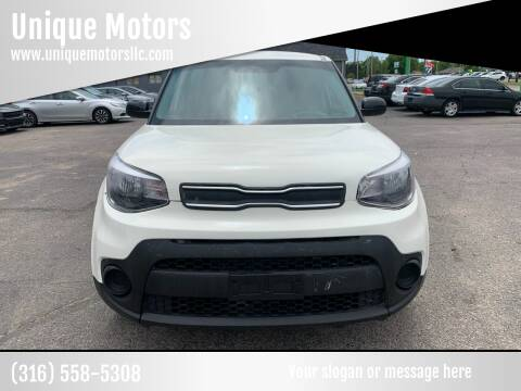 2019 Kia Soul for sale at Unique Motors in Wichita KS