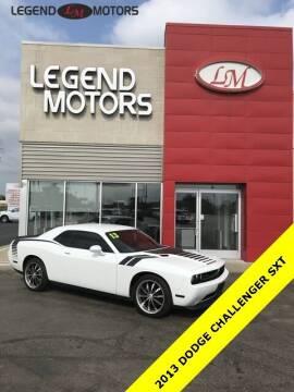 2013 Dodge Challenger for sale at Legend Motors of Ferndale in Ferndale MI
