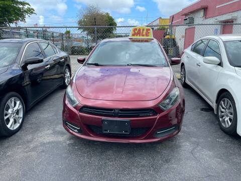2015 Dodge Dart for sale at Dream Cars 4 U in Hollywood FL