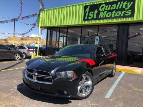 2014 Dodge Charger for sale at 1st Quality Motors LLC in Gallup NM