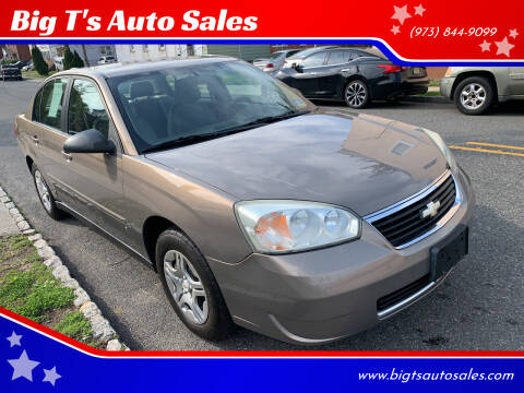 2007 Chevrolet Malibu for sale at Big T's Auto Sales in Belleville NJ
