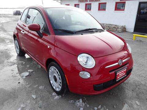 2012 FIAT 500 for sale at Sarpy County Motors in Springfield NE