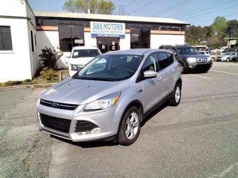 2015 Ford Escape for sale at S & S Motors in Marietta GA