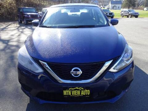 2018 Nissan Sentra for sale at MOUNTAIN VIEW AUTO in Lyndonville VT