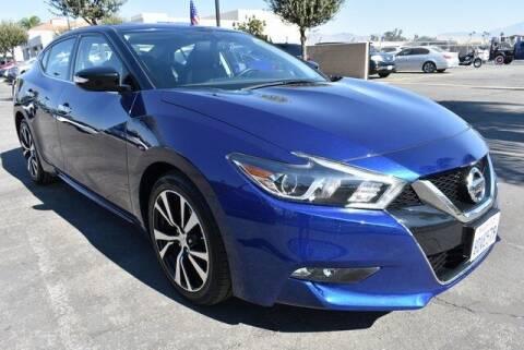 2018 Nissan Maxima for sale at DIAMOND VALLEY HONDA in Hemet CA