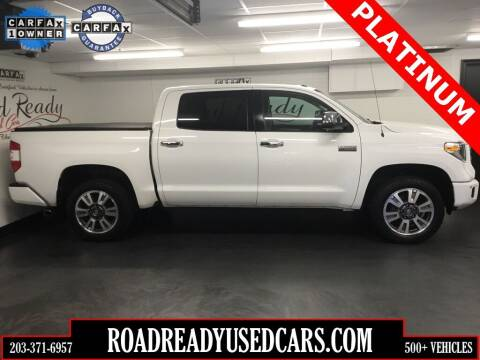 2018 Toyota Tundra for sale at Road Ready Used Cars in Ansonia CT
