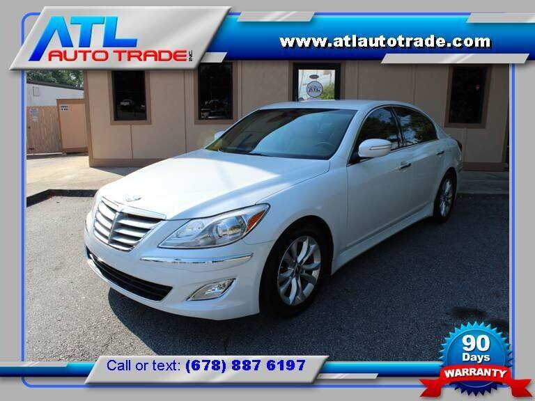 2013 Hyundai Genesis for sale at ATL Auto Trade, Inc. in Stone Mountain GA