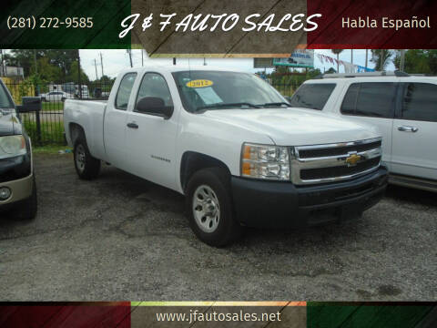 2012 Chevrolet Silverado 1500 for sale at J & F AUTO SALES in Houston TX