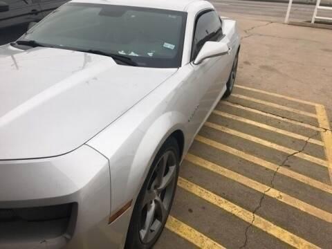 2013 Chevrolet Camaro for sale at FREDY KIA USED CARS in Houston TX