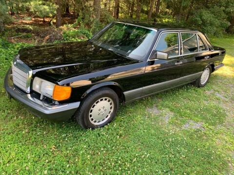 1989 Mercedes-Benz 560-Class for sale at The Car Store in Milford MA