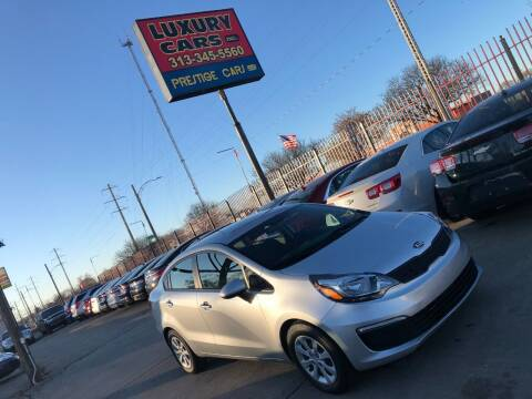 2016 Kia Rio for sale at Dymix Used Autos & Luxury Cars Inc in Detroit MI
