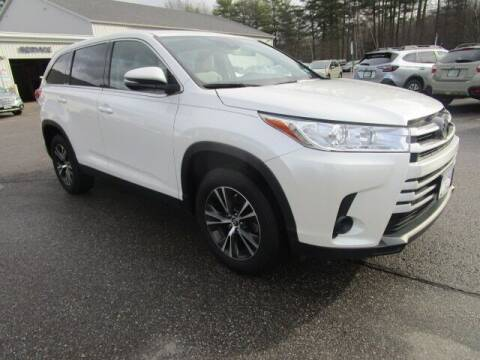 2019 Toyota Highlander for sale at BELKNAP SUBARU in Tilton NH